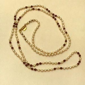 Miriam Haskell vintage pearl necklace